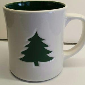 Starbucks Green Holiday Tree Mug